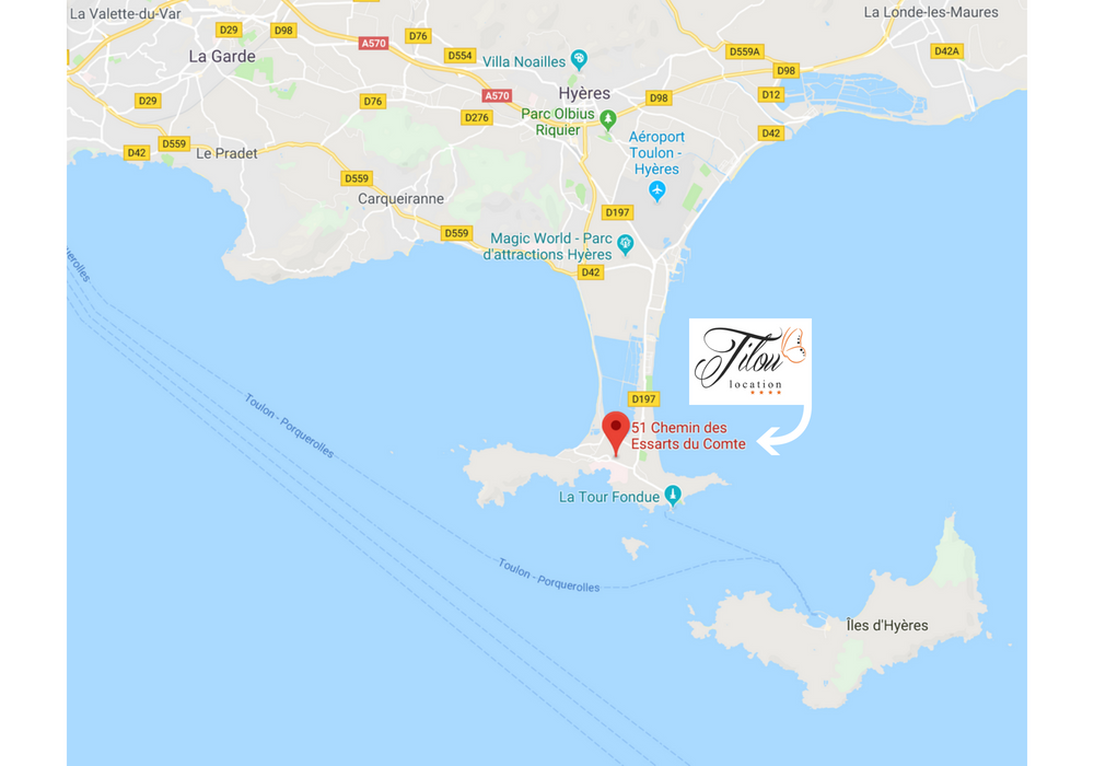 giens peninsula tilou location rentals